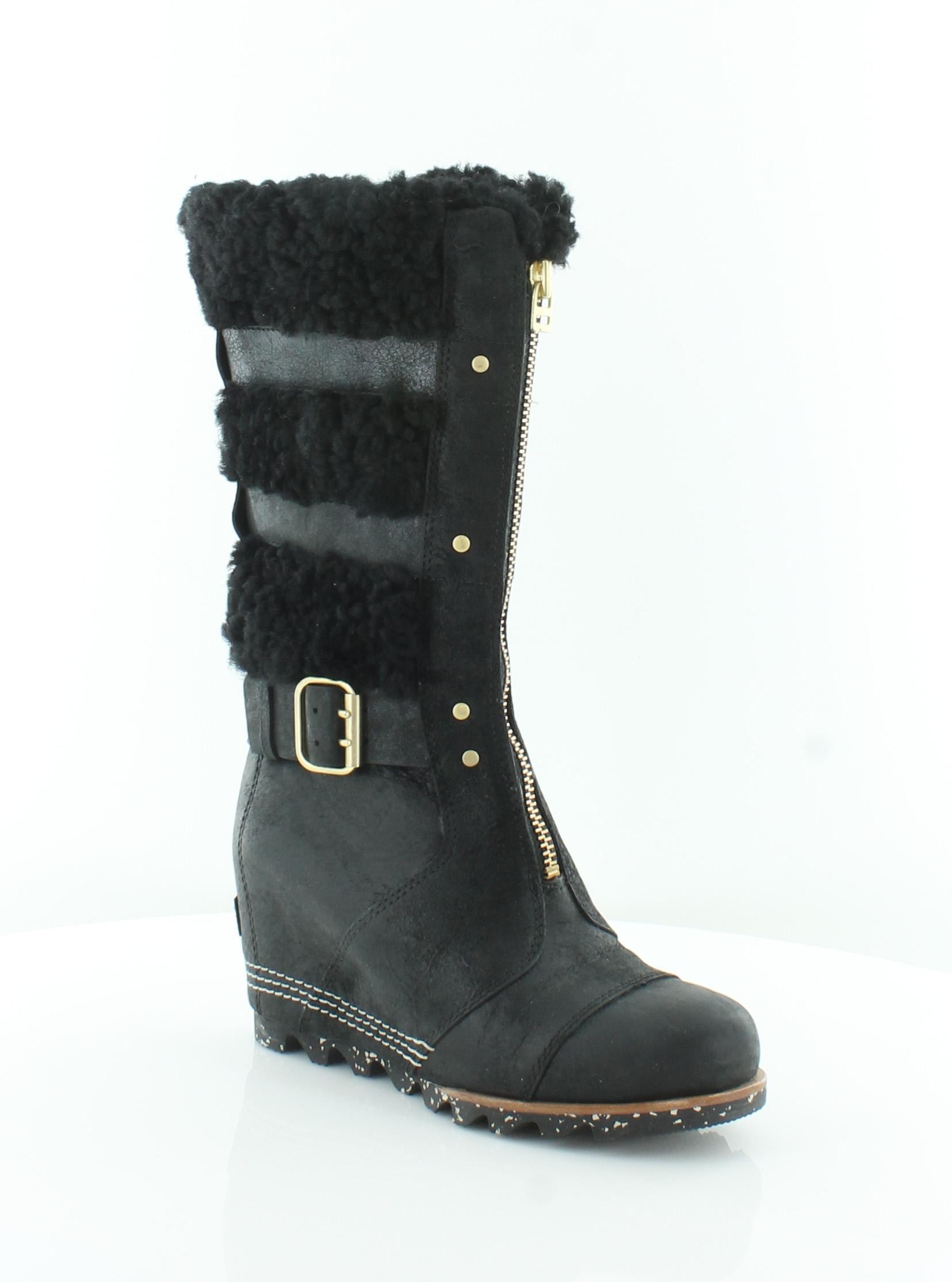 negozi al dettaglio Sorel Helen nero donna donna donna scarpe Dimensione 5 M stivali MSRP  295  a buon mercato