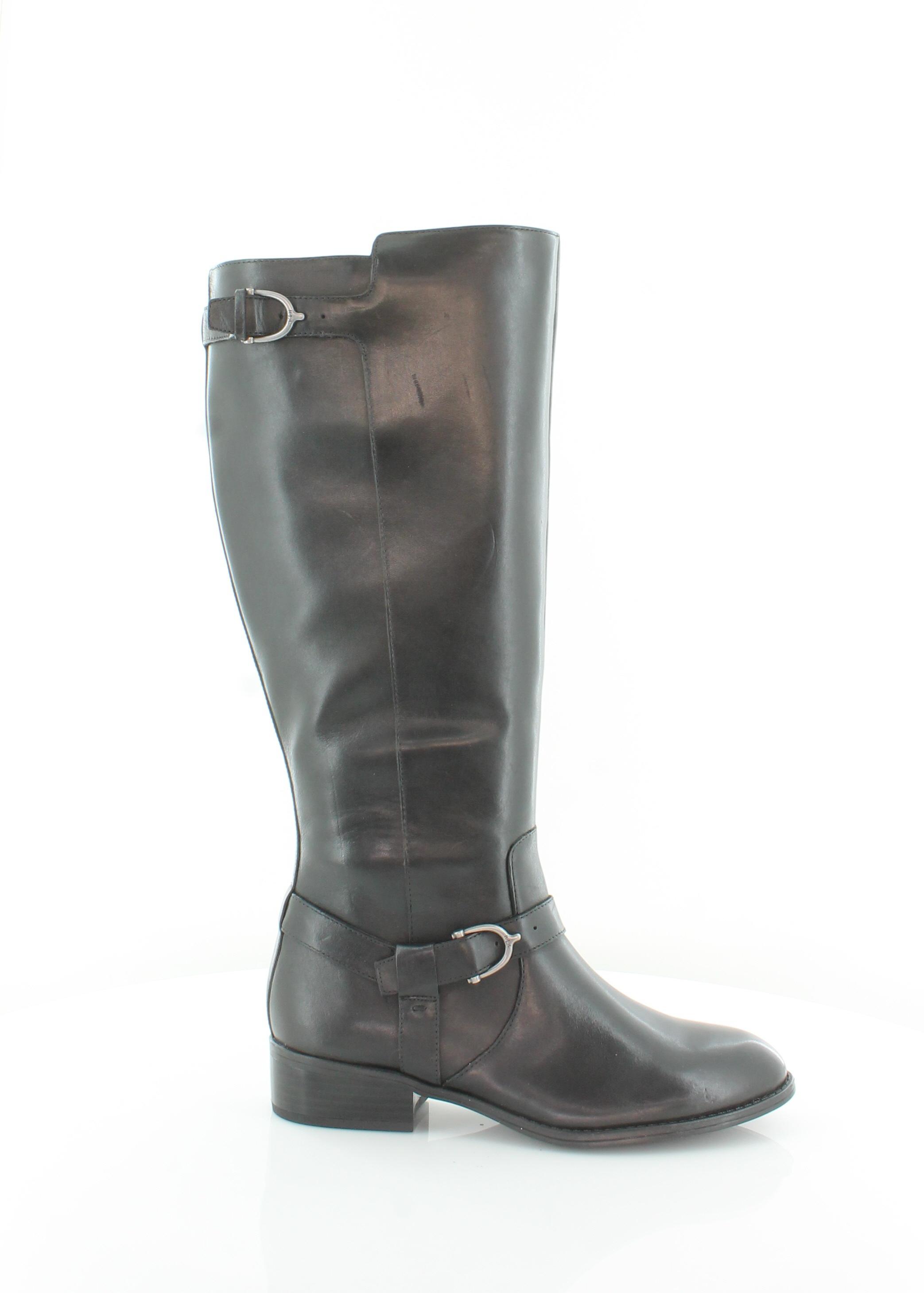 Ralph Lauren Margarite Negro botas para para para mujer zapatos talla 6.5 M MSRP  179  envío gratuito a nivel mundial