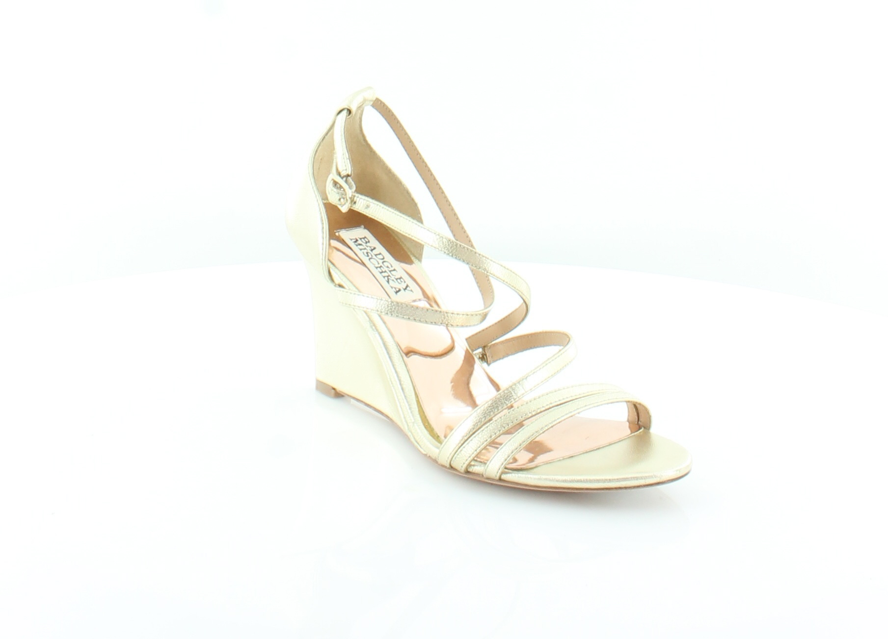Badgley Mischka Bonanza gold Womens shoes shoes shoes Size 5.5 M Sandals MSRP  198 193eae