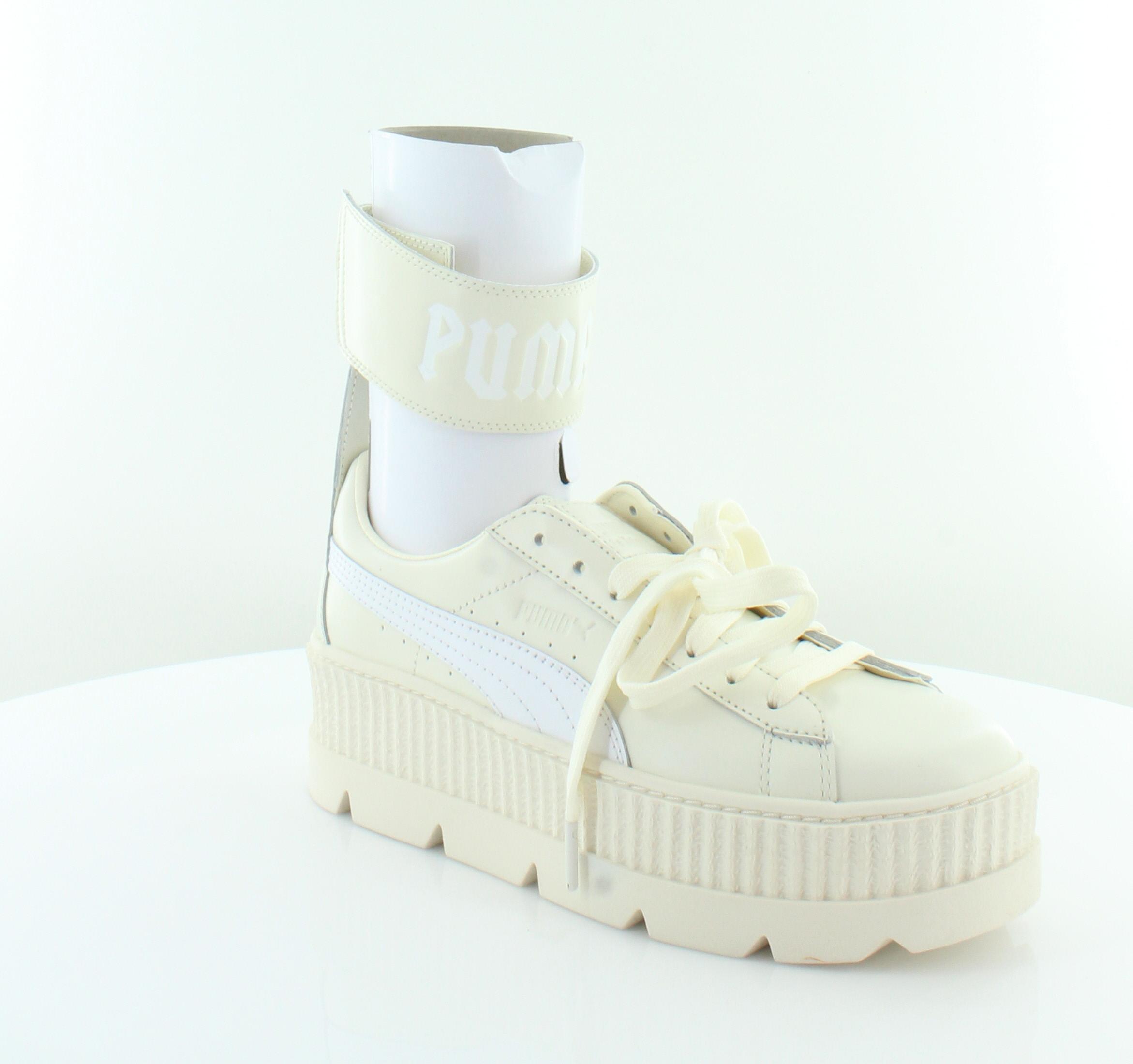 febf896f3d7f98 Fenty Puma x Rihanna Ankle Strap Ivory Womens Shoes 10 M Fashion Sneakers