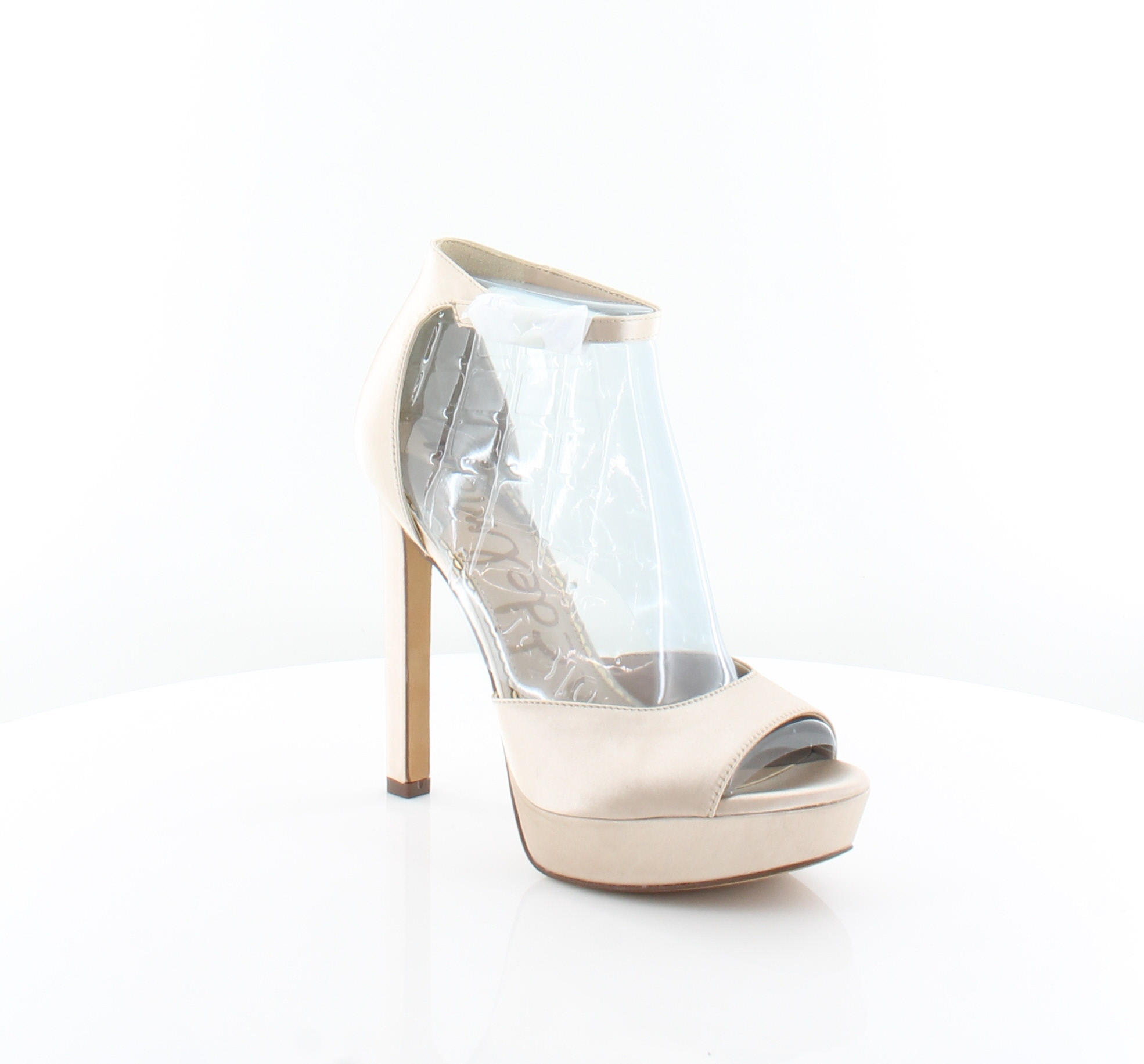 b2a8166d7172 Sam Edelman Wallace Gold Womens Shoes Size 9.5 M Heels MSRP  120 ...
