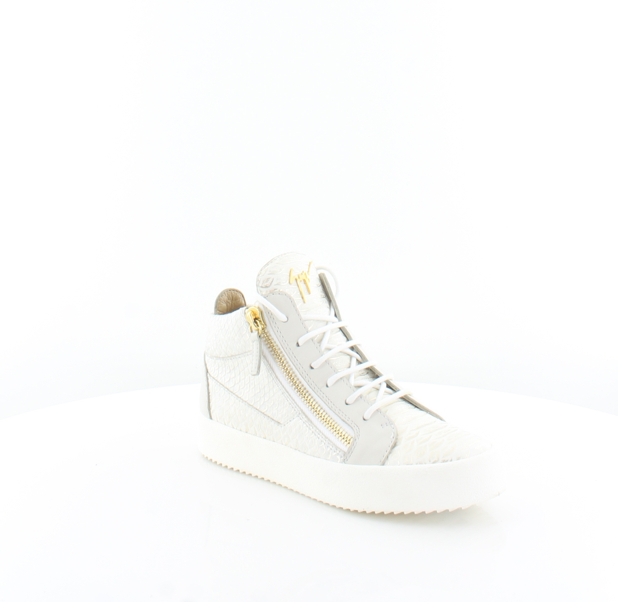 64cc9c459d4f8 Giuseppe Zanotti May London White Womens Shoes 6.5 M Fashion Sneakers MSRP  $750