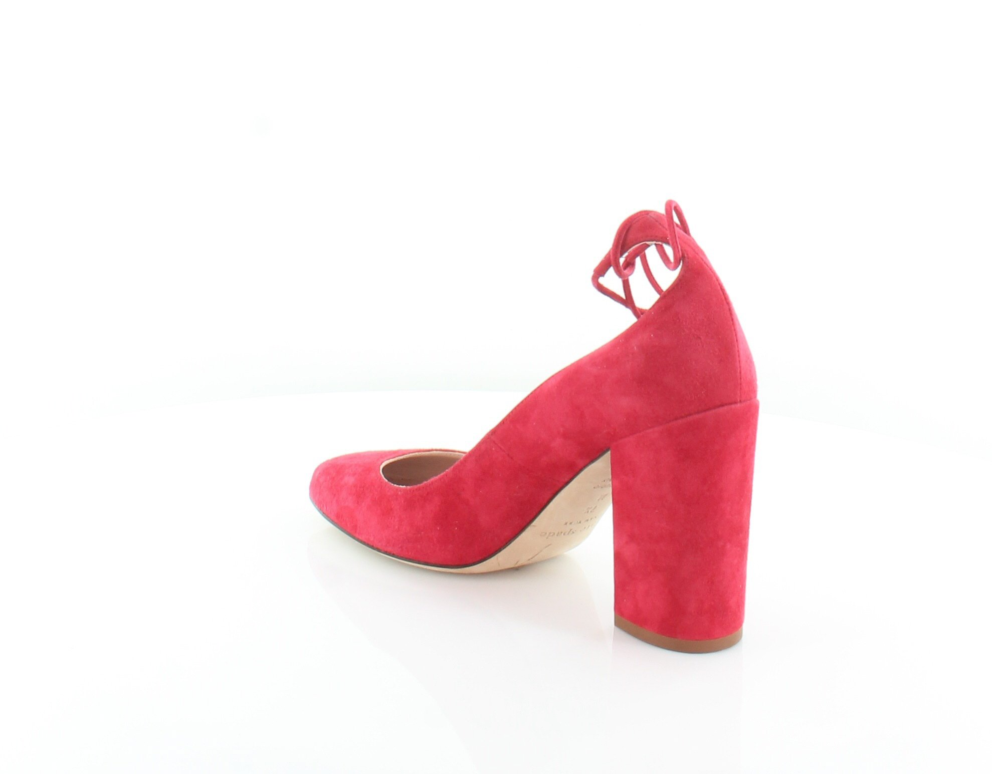 6298ccded5f6 Kate Spade Gena Red Womens Shoes Size 7.5 M Heels MSRP  298 ...