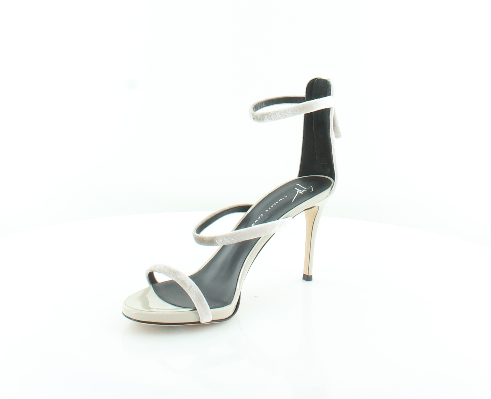 1d7b63fb2433f ... Picture 2 of 5; Picture 3 of 5; Picture 4 of 5. 2. Giuseppe Zanotti  Alien 3 Strap Beige Womens Shoes ...