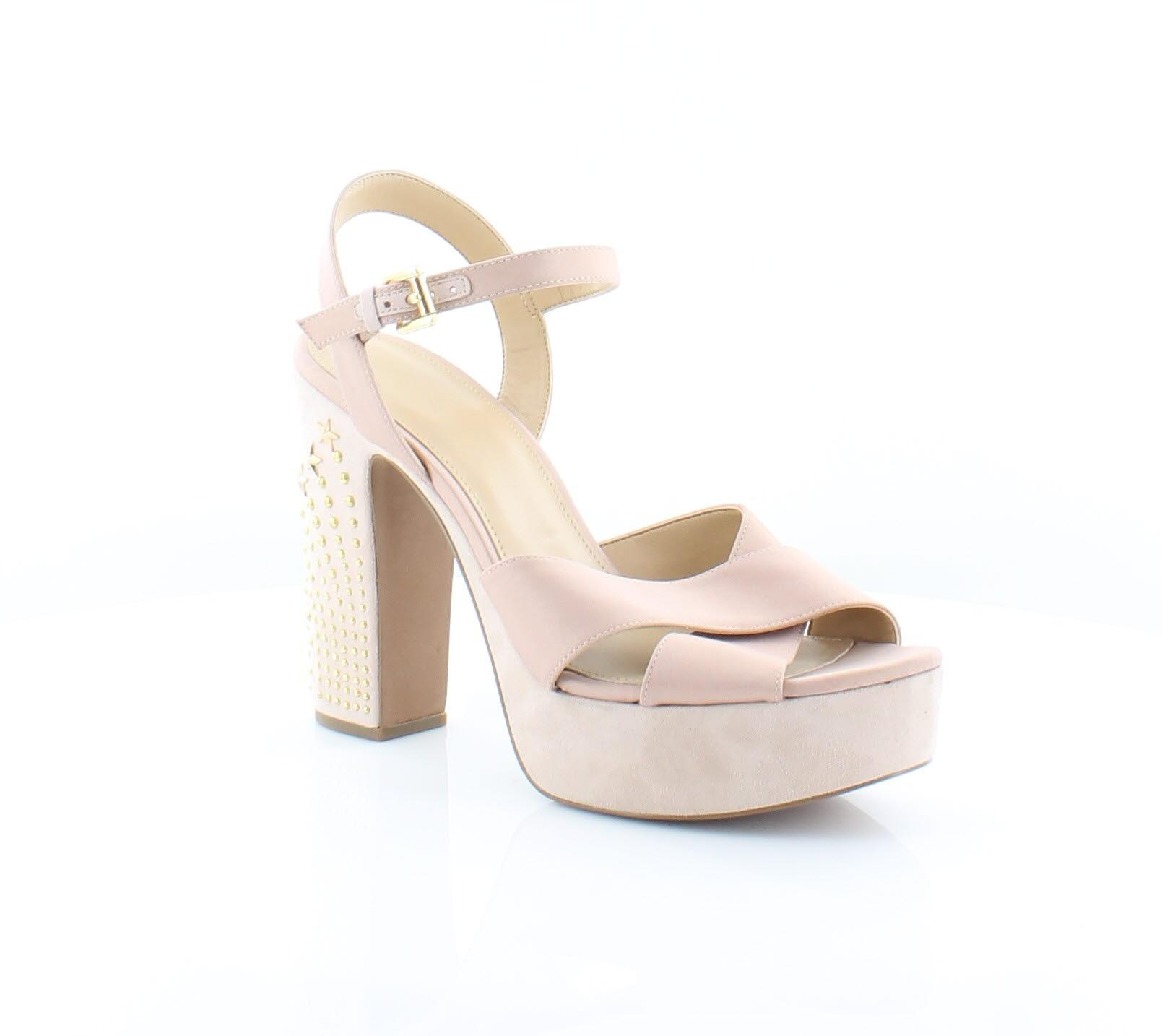 d3956767c6 Michael Kors Sia Platform Pink Womens Shoes Size 10 M Sandals MSRP $170