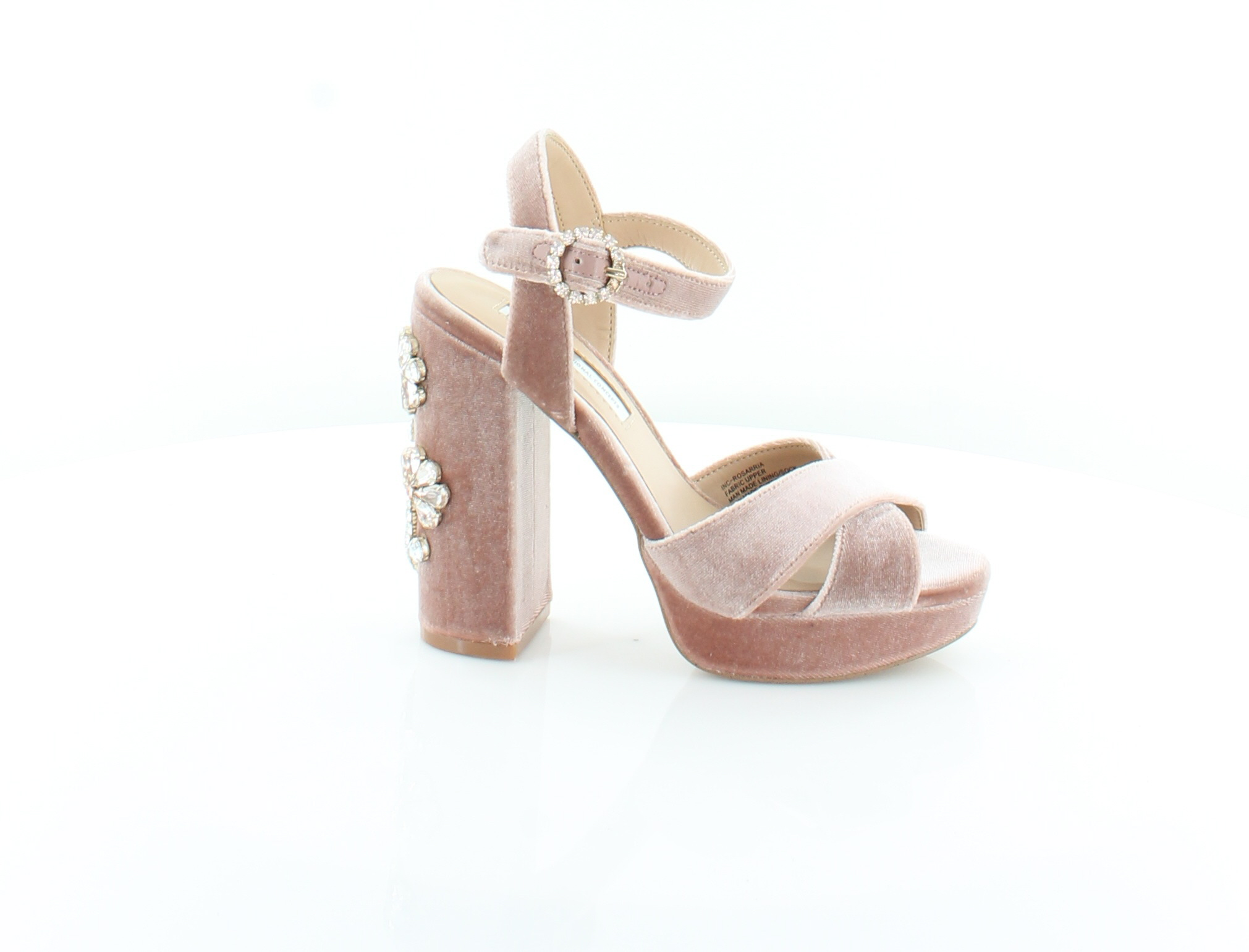 INCInternational Concepts rosarria rosa donna scarpe 5 M M M Sandals MSRP  119.99 b2dc1b