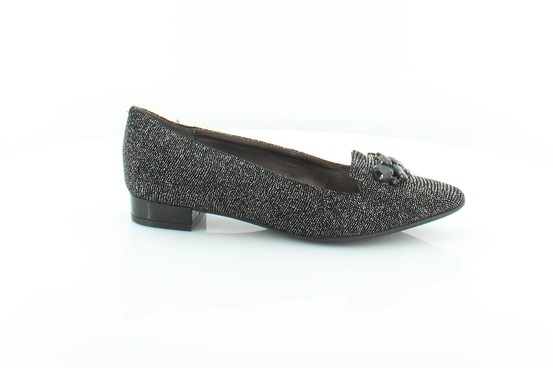 ef102c0a4c7 Anne Klein Kamy Black Womens Shoes Size 6 M Flats MSRP  85 ...