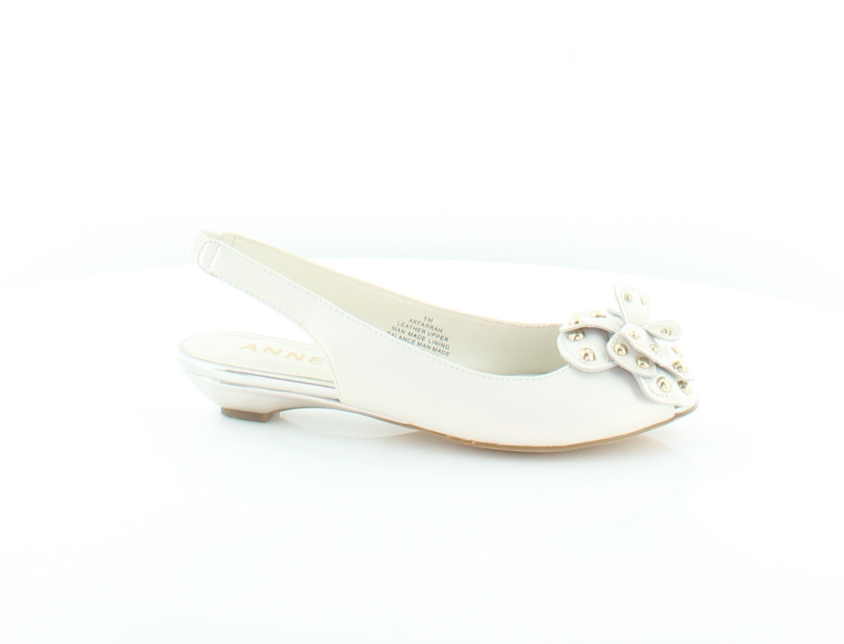 2c87baf4a0b Anne Klein Farrah Ivory Womens Shoes Size 5 M Sandals MSRP  85 1 of 5FREE  Shipping ...