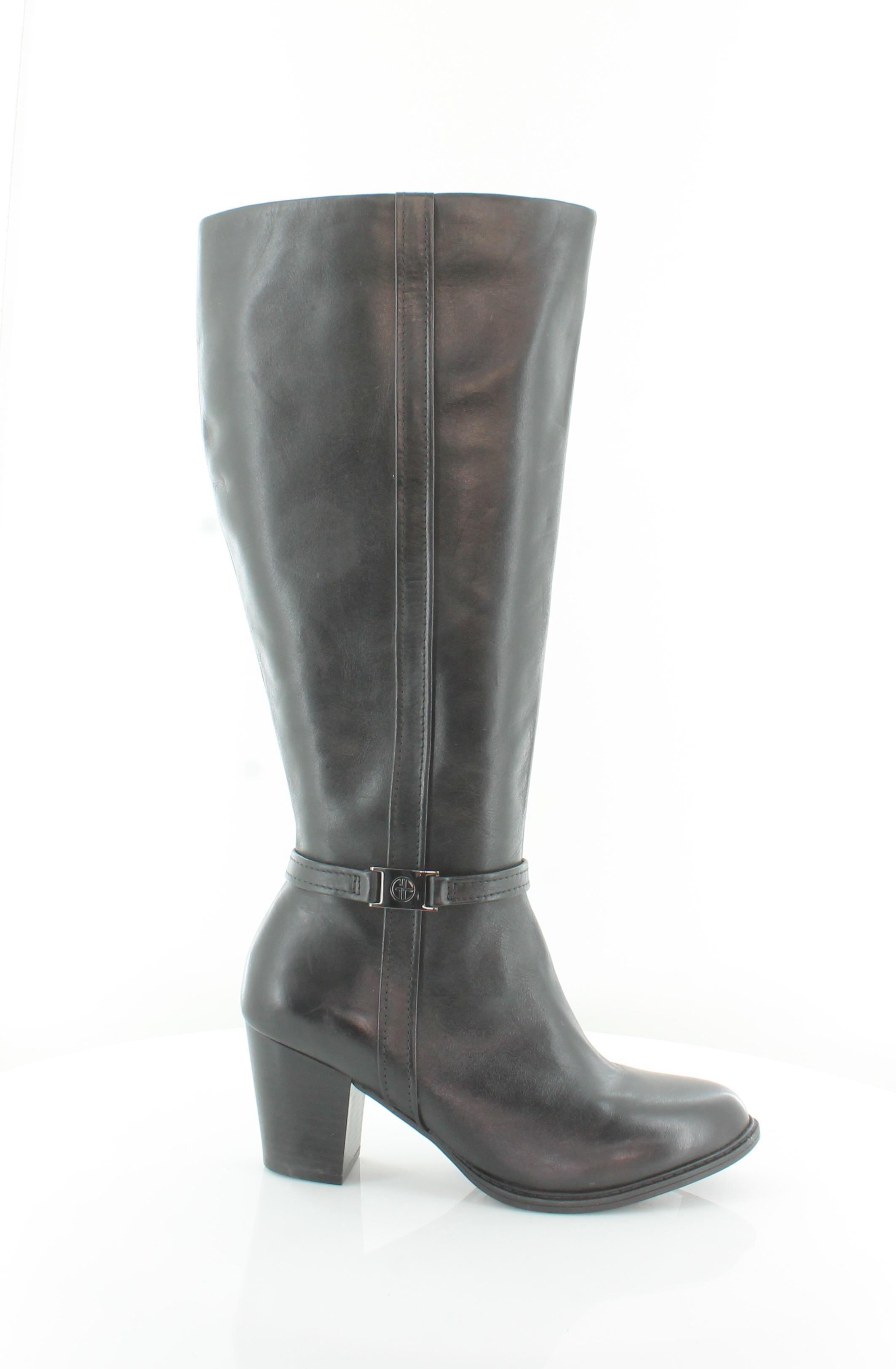 Giani Bernini Raiven Negro Zapatos para para para mujer Talla 9 M botas precio minorista sugerido por el fabricante  179.99  distribución global