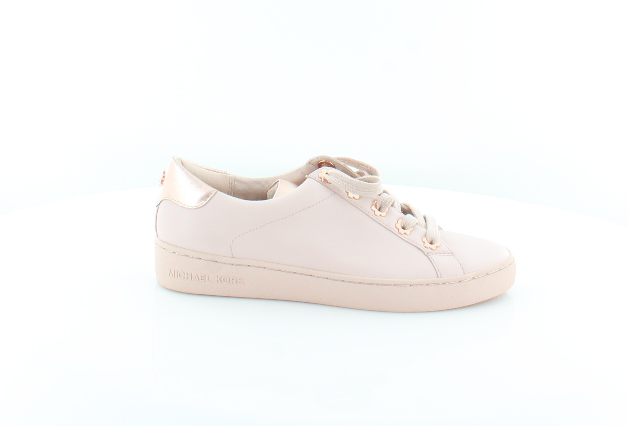 b252e53e9a2e Michael Kors Irving Lace Up Pink Womens Shoes 6 M Fashion Sneakers ...