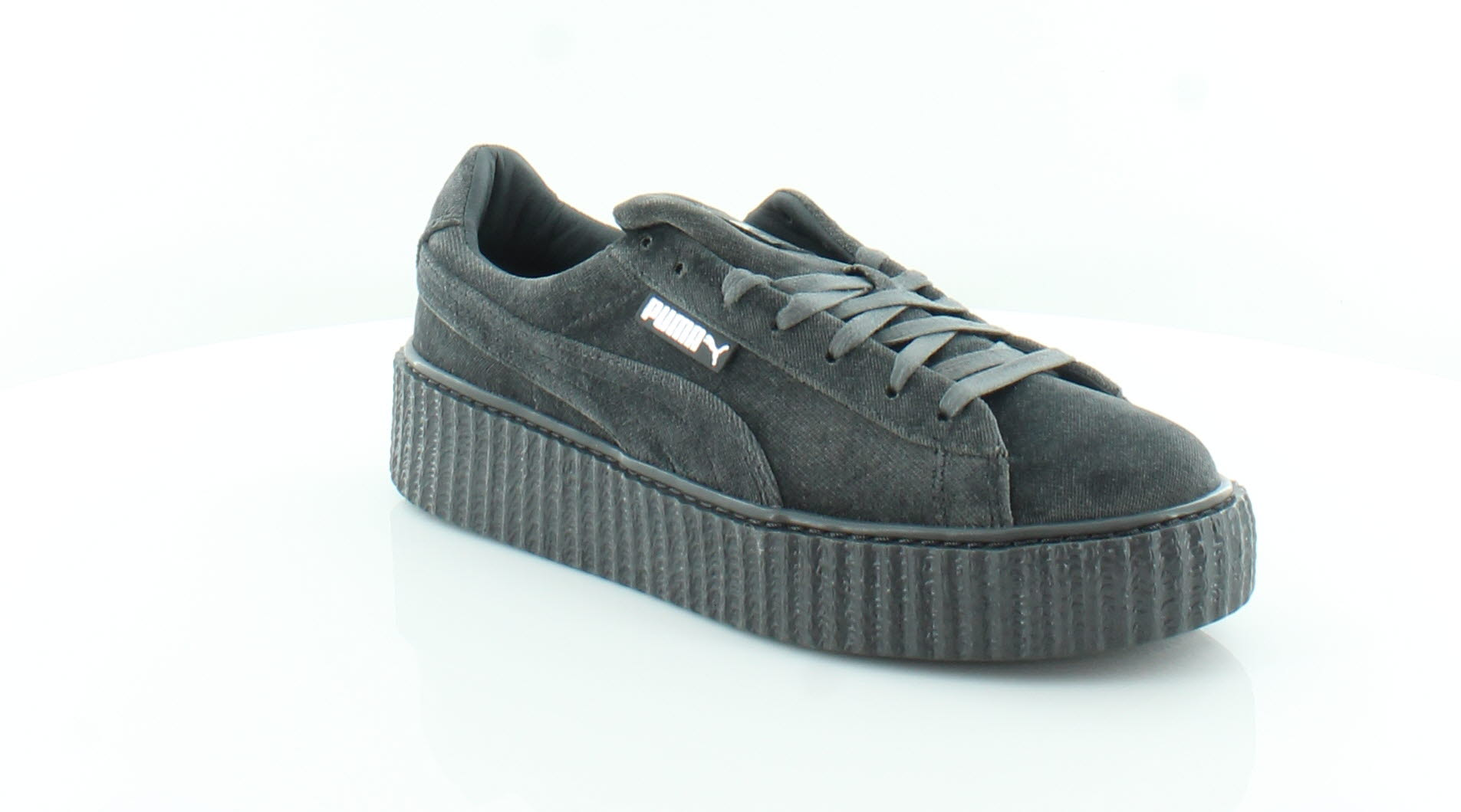 459d45fbdc3a Fenty Puma by Rihanna Velvet Creepers Women s Fashion Sneakers Glacier Gray