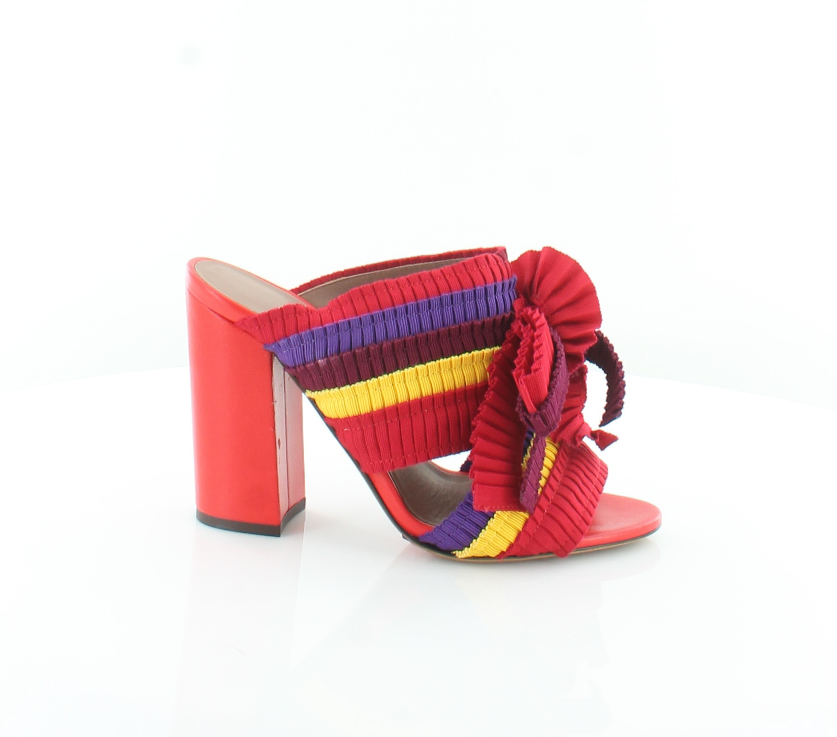 Tabitha Simmons Beau Red Womens shoes Size 8 M Sandals MSRP  845