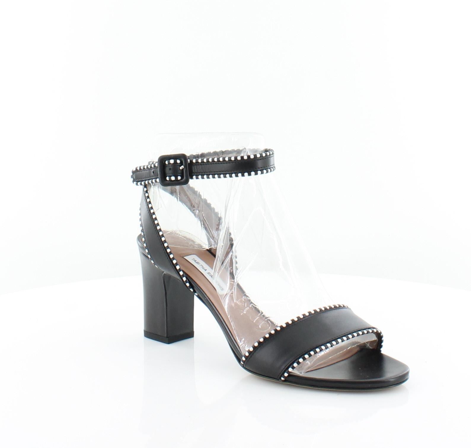 df37179ba6 Tabitha Simmons Leticia Black Womens Shoes Size 9 M Heels MSRP  645 ...