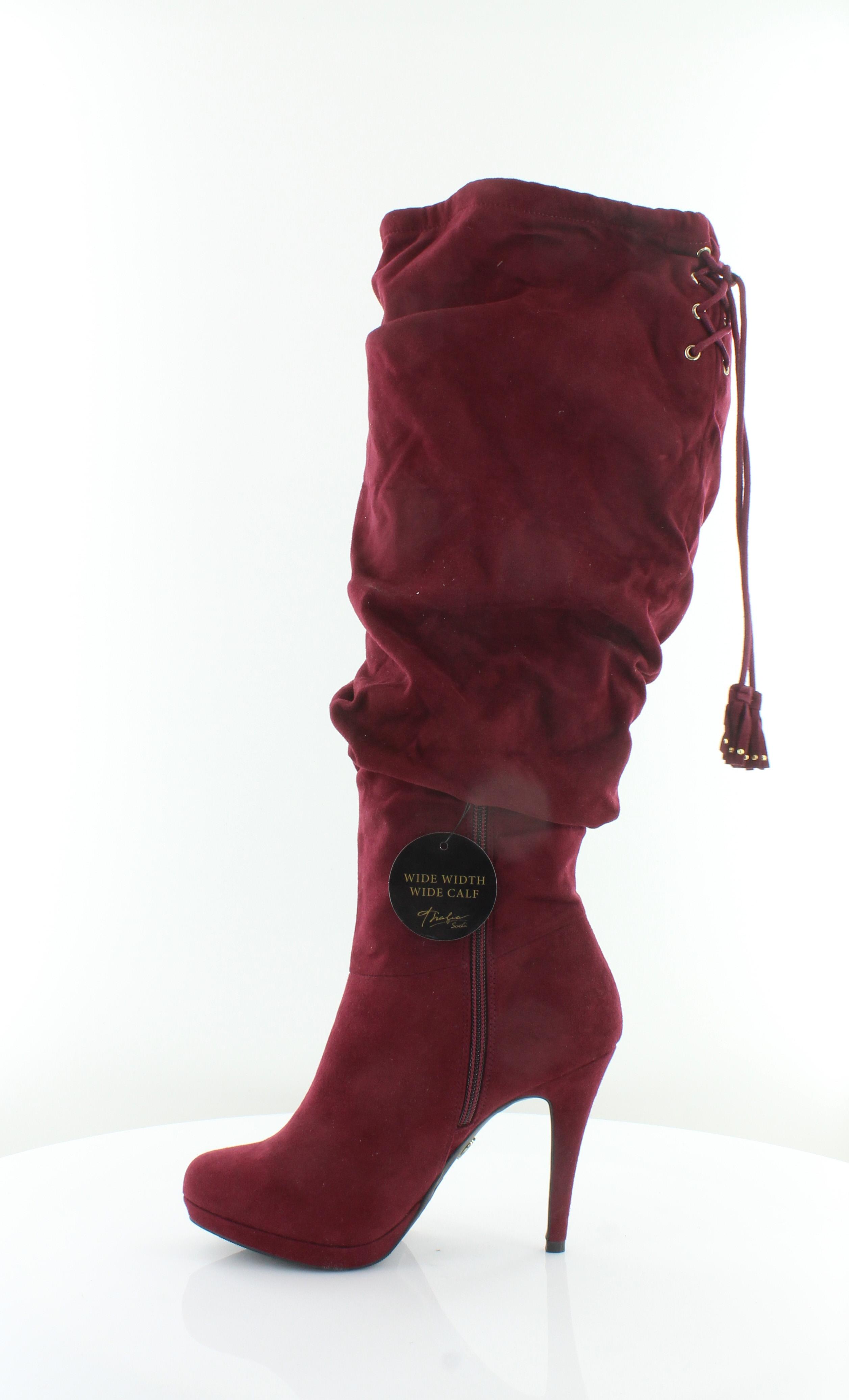 Thalia Sodi Brisa rot damen schuhe Größe Größe Größe 6.5 W Stiefel MSRP  129.99 852cc7