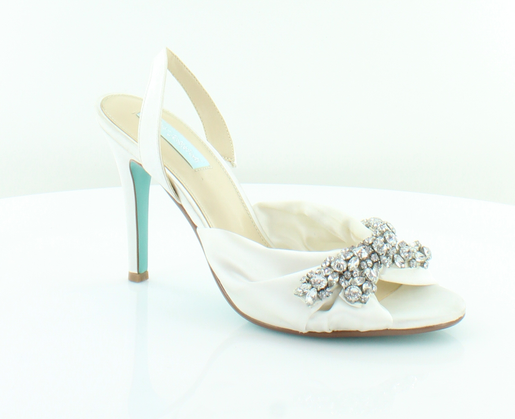 Betsey Johnson Briel Ivory femmes chaussures Taille 8.5 M Heels MSRP  119