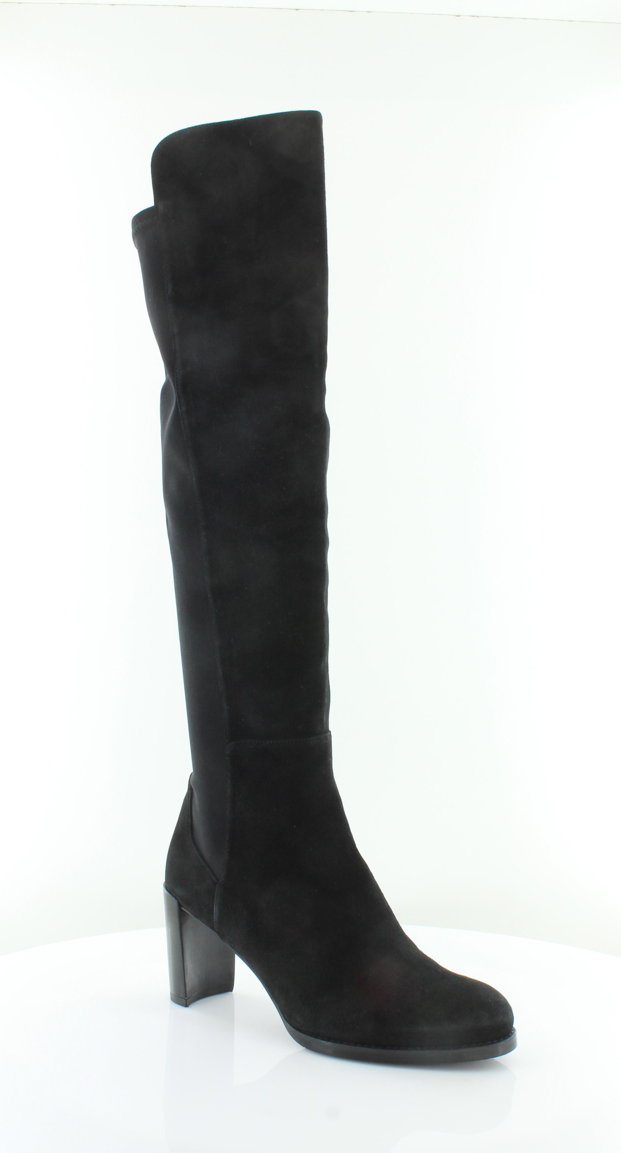 Stuart Weitzman Lowjack Black Womens shoes Size 9.5 M Boots MSRP  655