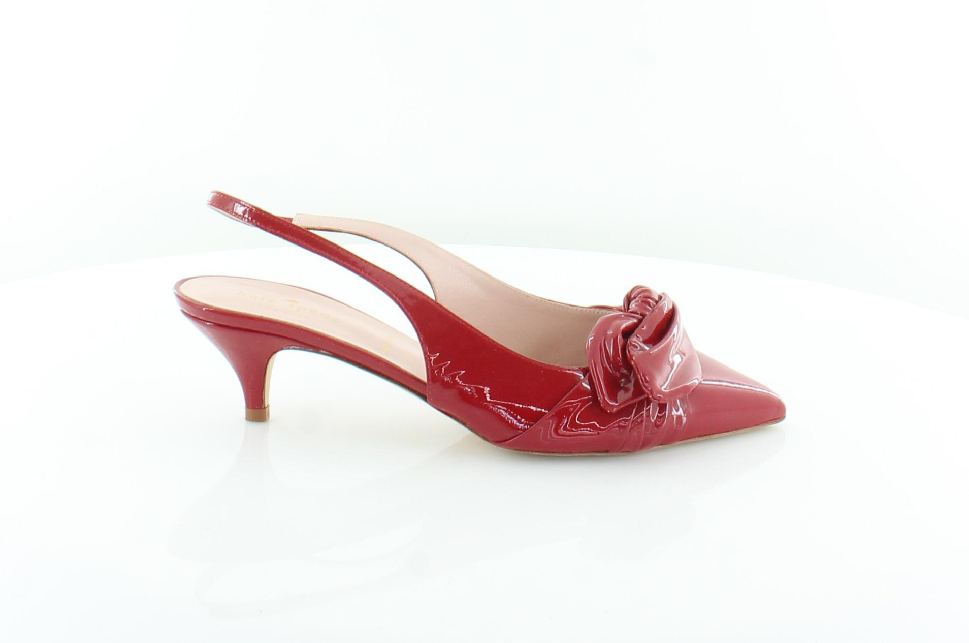 Kate Spade Ophelia rot damen schuhe Größe 7.5 M Heels MSRP  278