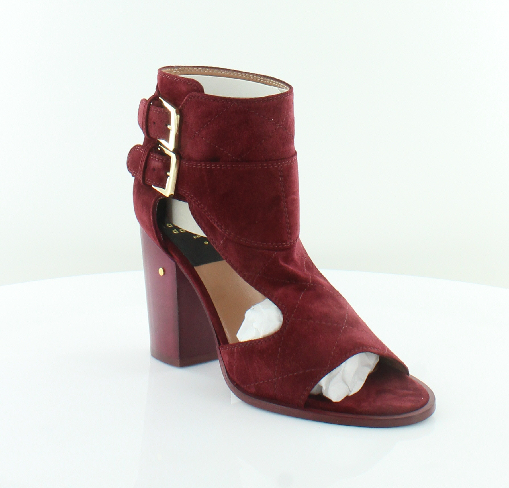 Laurence dacade Deric Red Womens shoes Size 7 M Heels MSRP  795