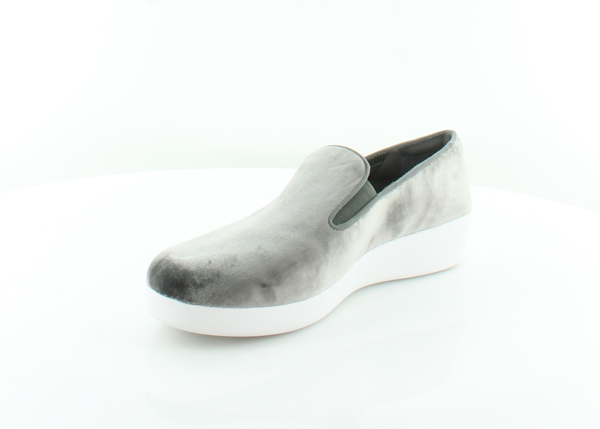 8bcabc9ee836b Fitflop Superskate Silver Womens Shoes Size 9 M Flats MSRP  130 ...
