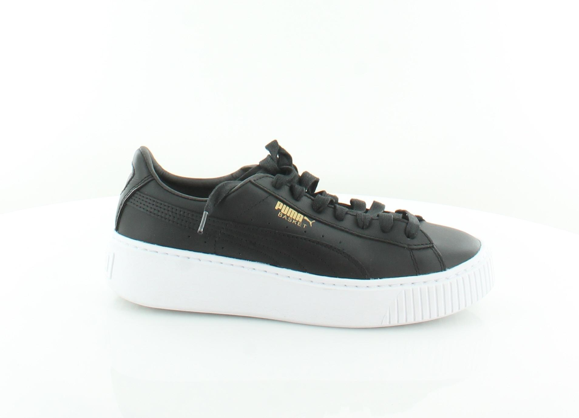 e09ae7e11645de Puma Suede Platform Core Black Womens Shoes 7.5 M Fashion Sneakers ...