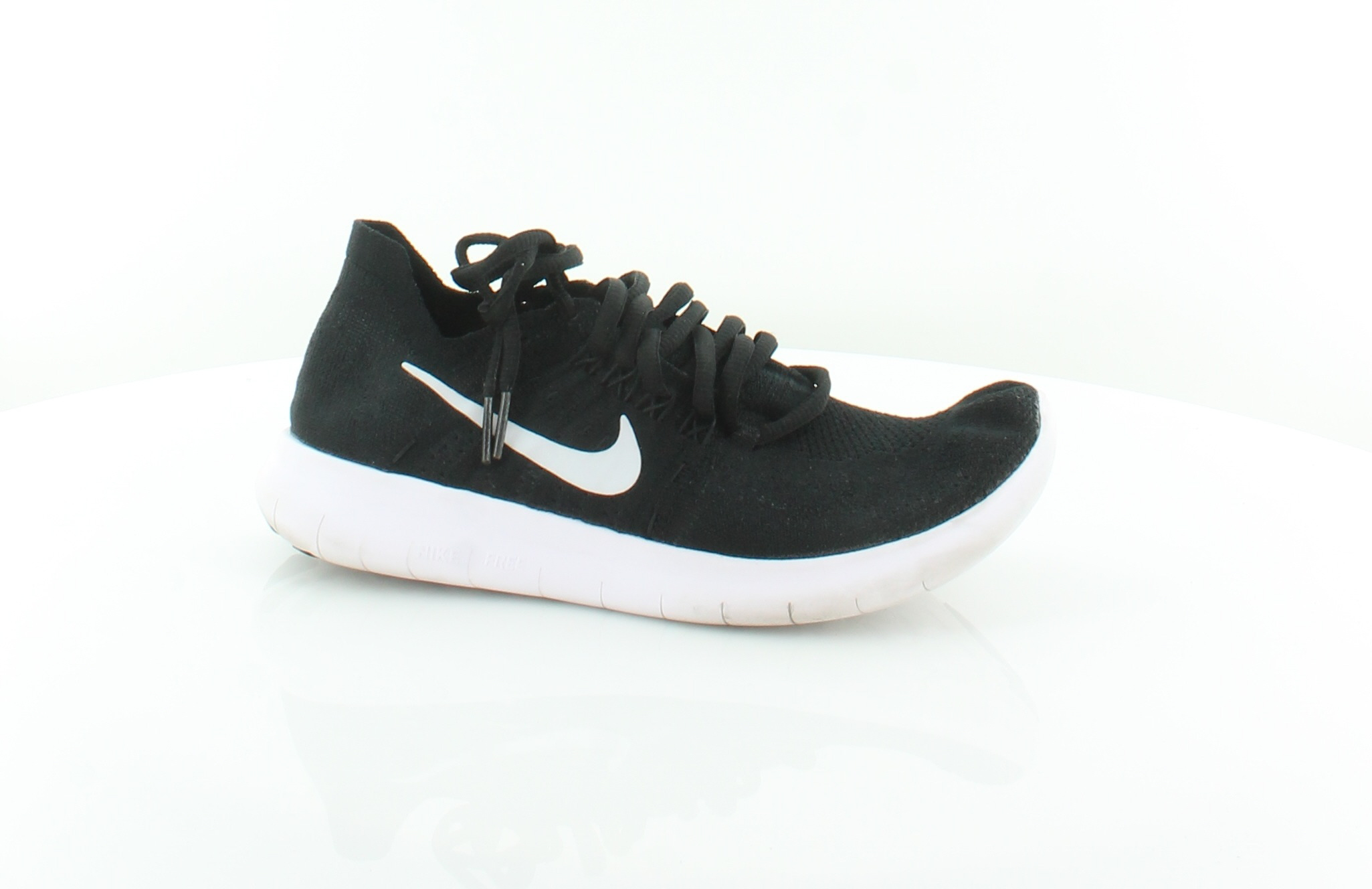 d2dc12c09854 Nike Free Run Black Womens Shoes Size 7 M Athletic MSRP  120