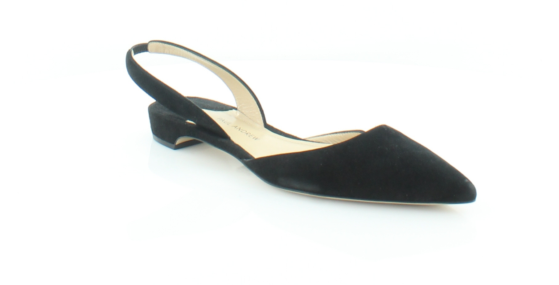 385324cee36 Paul Andrew Rhea Black Womens Shoes Size 7 M Flats MSRP  525 ...