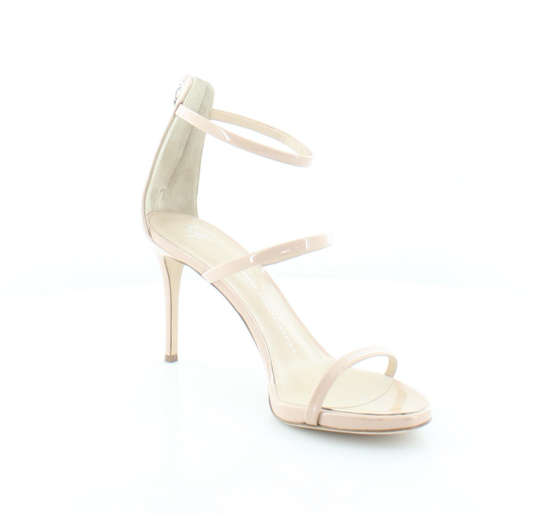 6c9a490d69e69 Giuseppe Zanotti Alien 3 Strap Beige Womens Shoes Size 10 M Heels MSRP $725