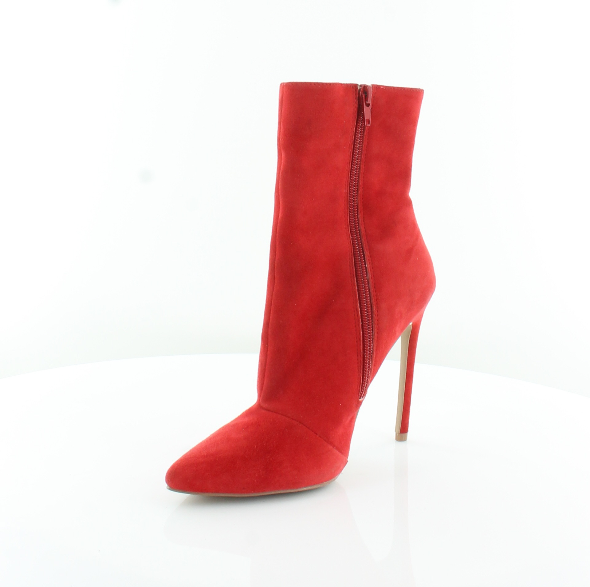d8967bed70f STEVE MADDEN WAGNER Red Womens Shoes Size 8.5 M Boots MSRP $129