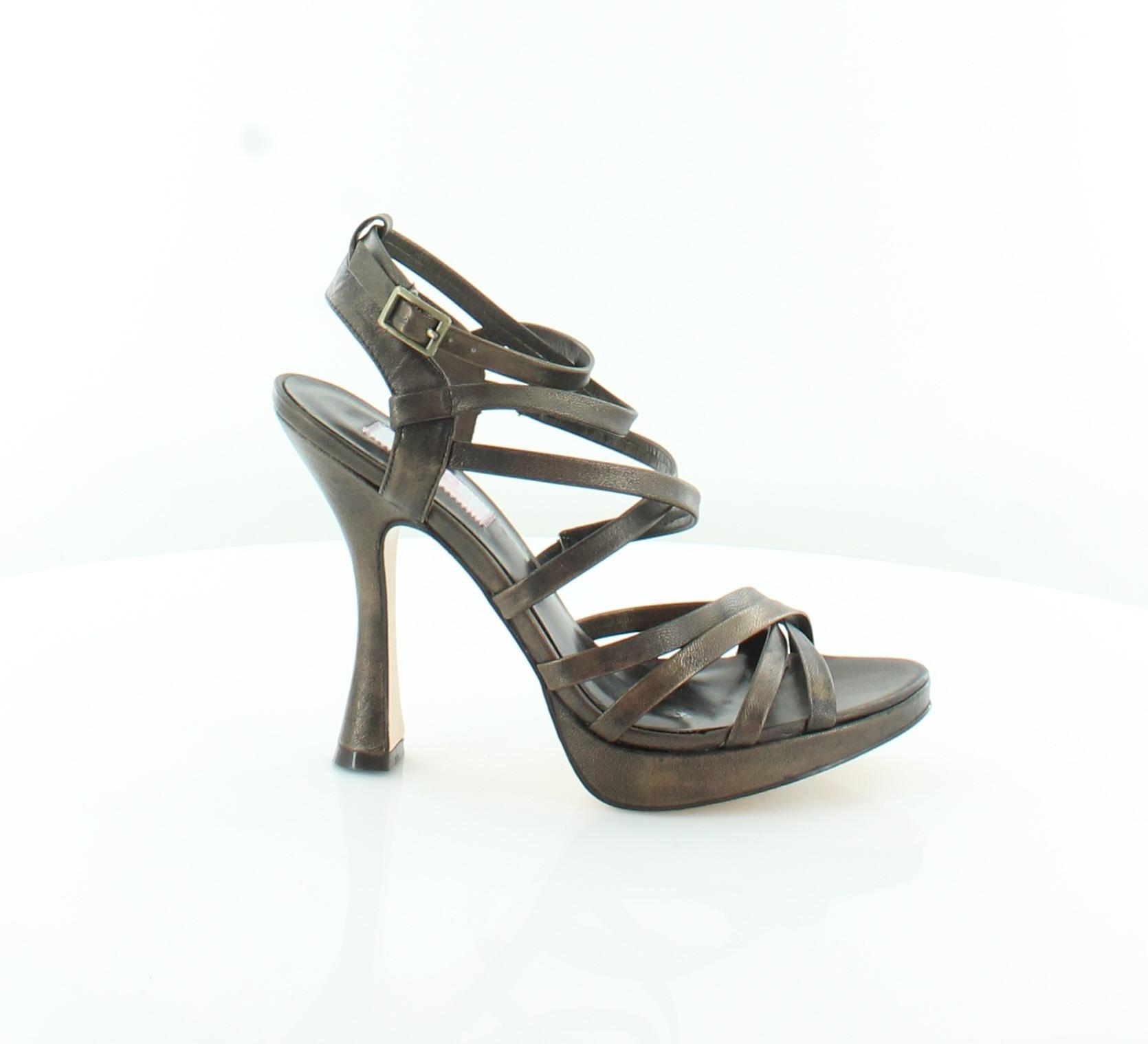 JLO By Jennifert Lop[ez Fantasy Brown Womens shoes Size 6.5 M Sandals MSRP  115