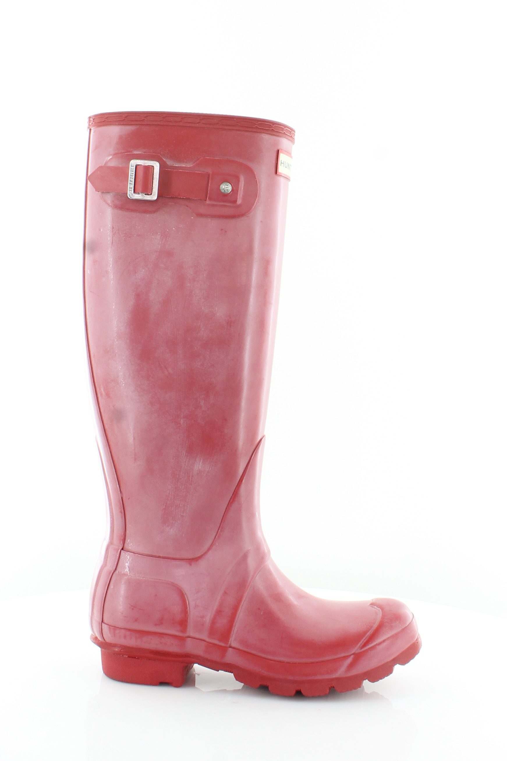 Hunter Original Tall Red Womens shoes Size 5 M Boots MSRP