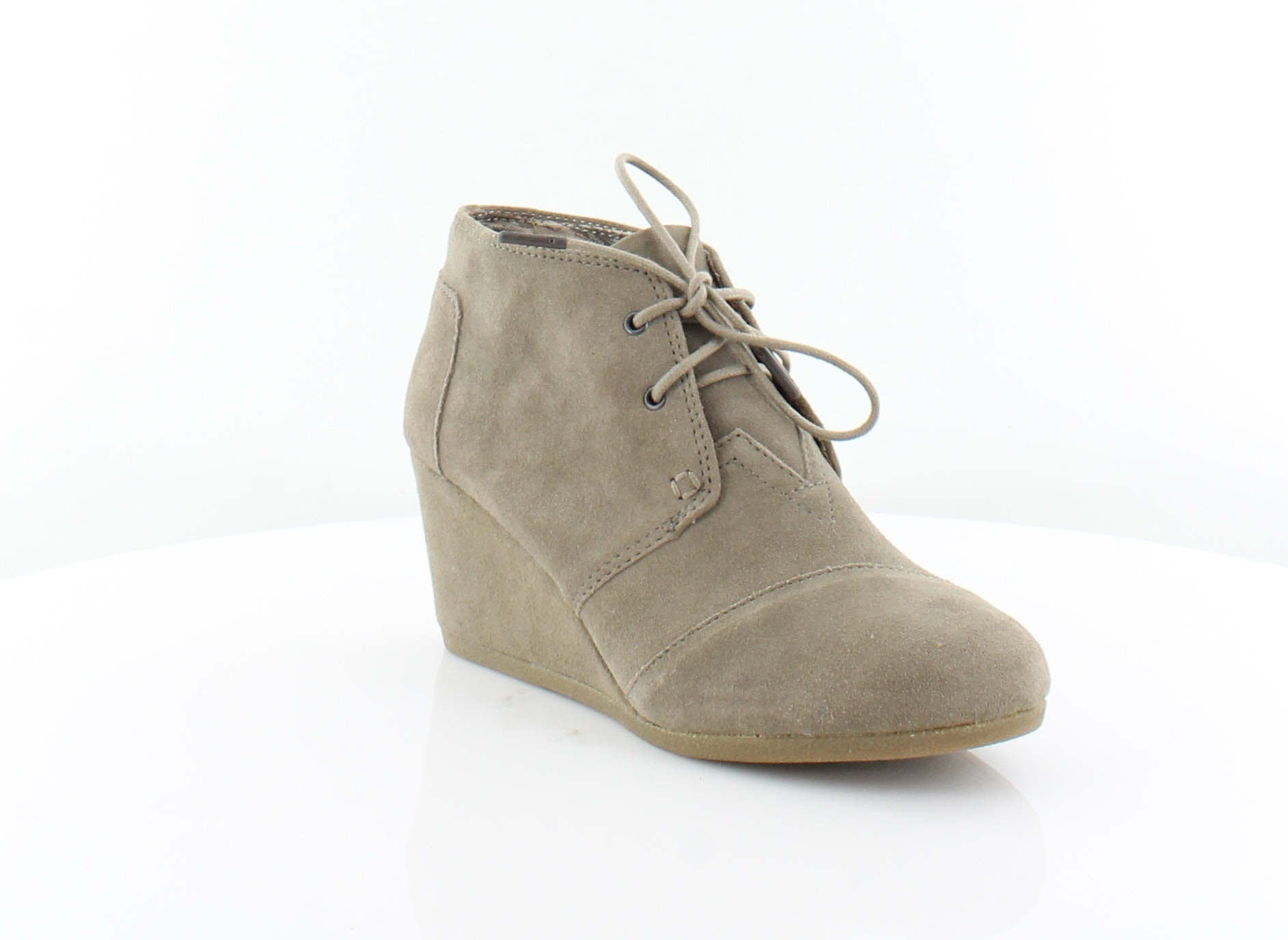 e560df80926 TOMS Desert Wedge Gray Womens Shoes Size 9 M Heels MSRP  89 ...