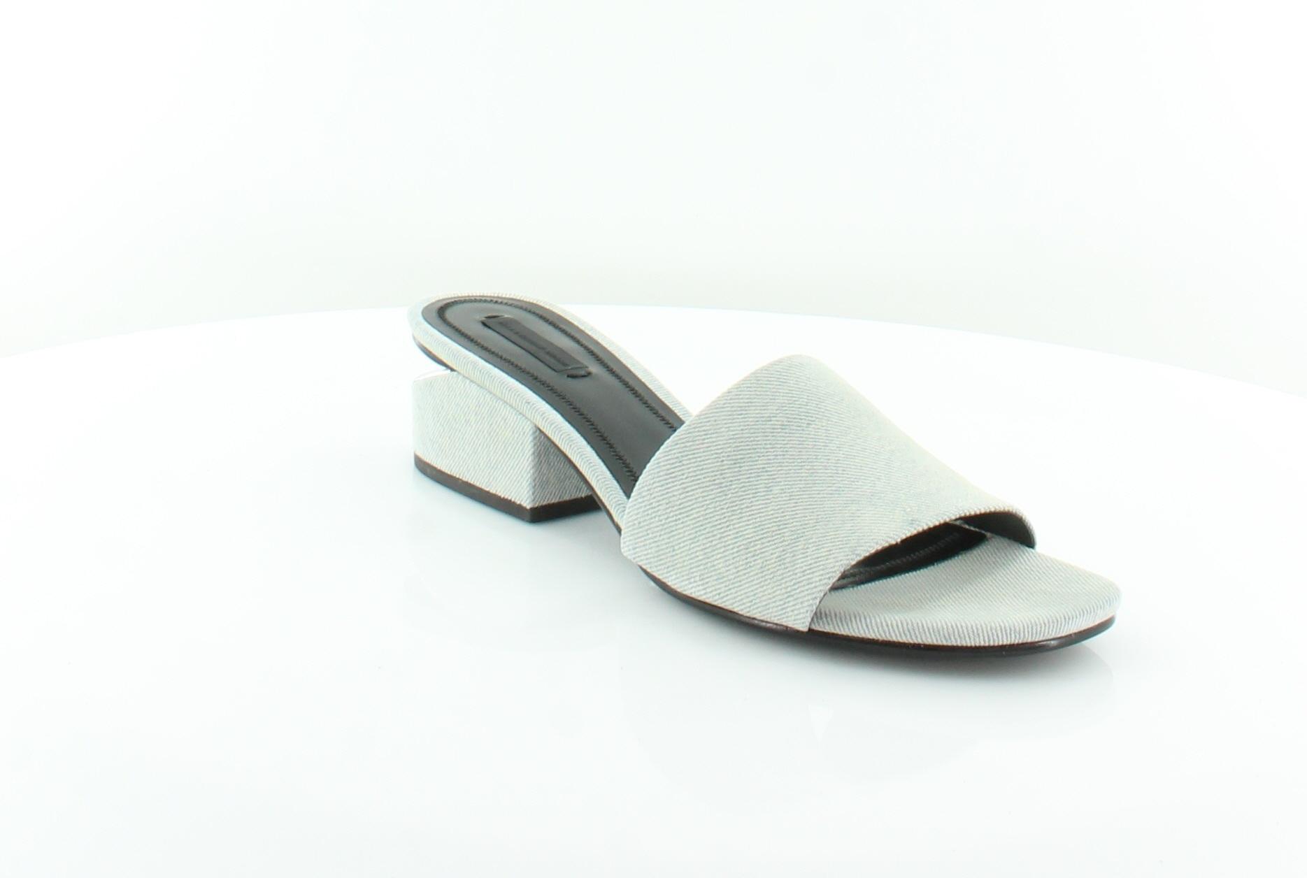 Alexander Wang Wang Wang Hollie blu donna scarpe Dimensione 10 M Sandals MSRP  425 d9d84c