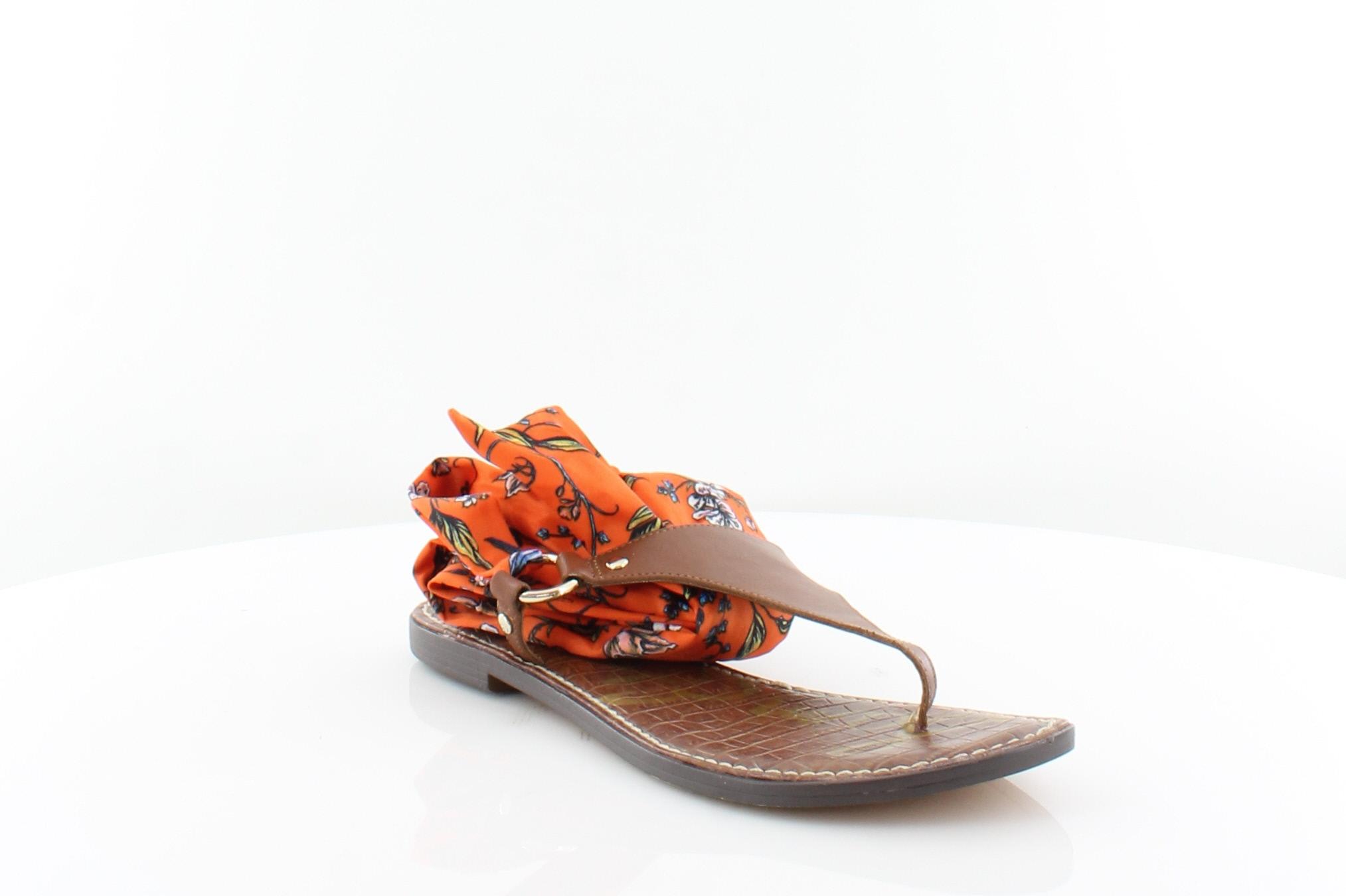 20959eee0d2 Sam Edelman Giliana Orange Womens Shoes Size 7.5 M Sandals MSRP  90 ...