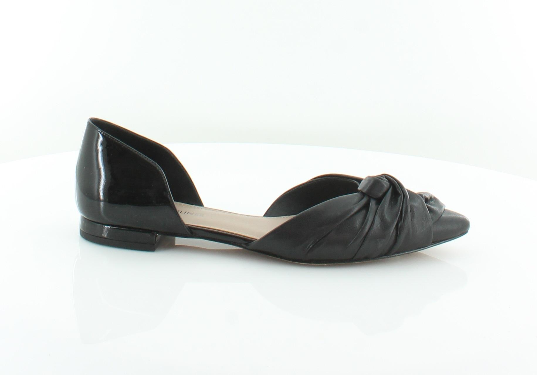 Donald J Pliner Pennie Black Womens shoes Size 8.5 M Flats MSRP  228