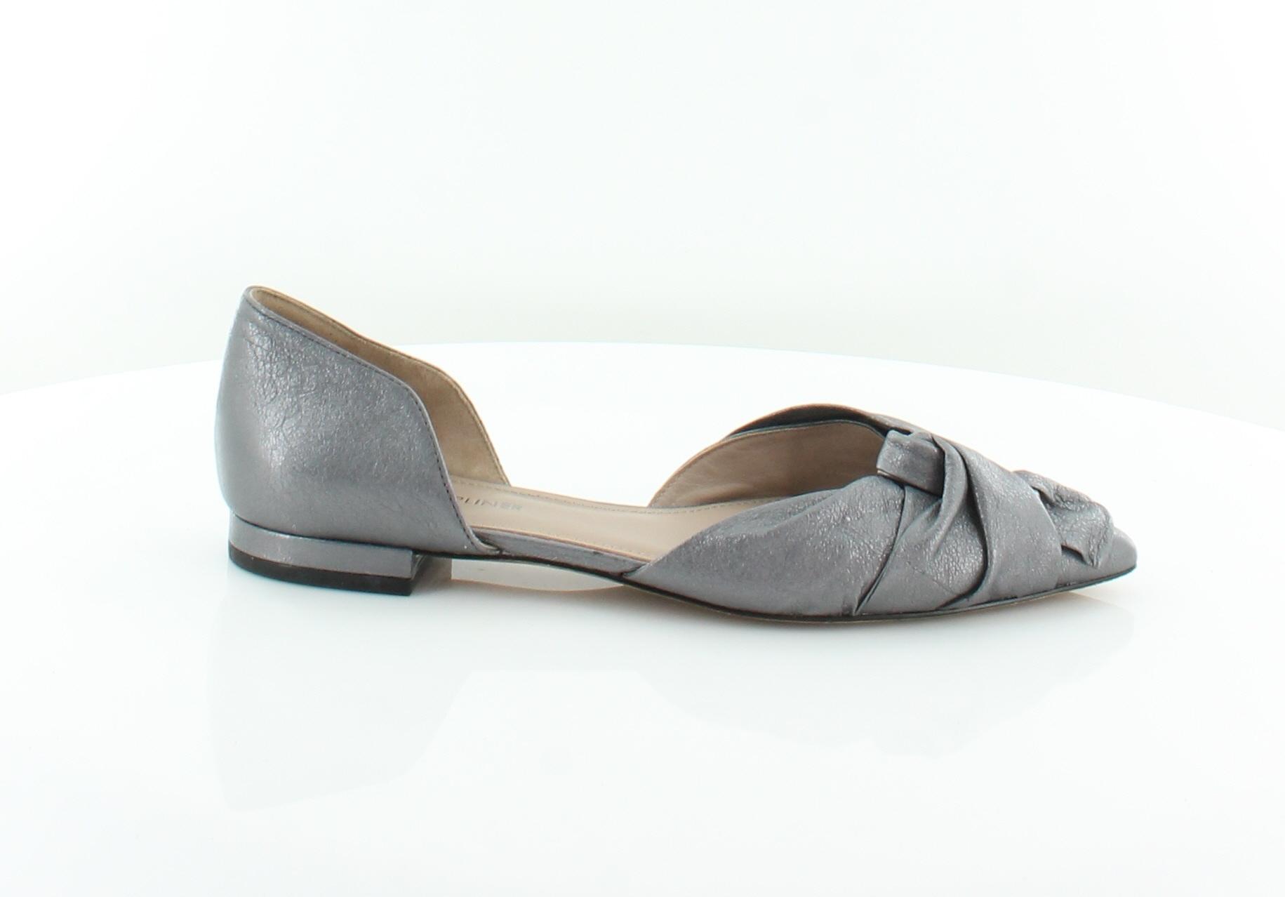 3c6066df08c Details about Donald J Pliner Pennie Gray Womens Shoes Size 6 M Flats MSRP  $228