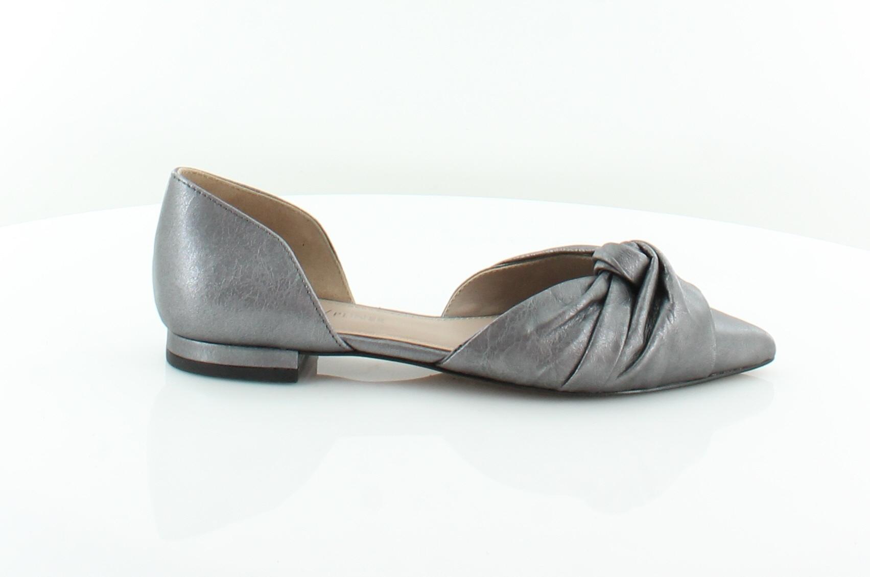 db6864be0b6 Donald J Pliner Pennie Silver Womens Shoes Size 7 M Flats MSRP  228 ...
