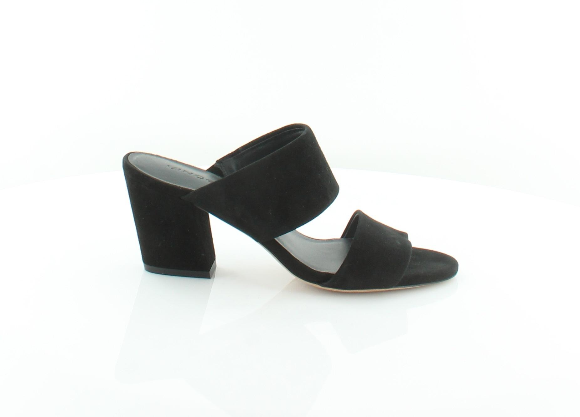 VINCE Benetta nero donna scarpe Dimensione 7 M Sandals MSRP  295
