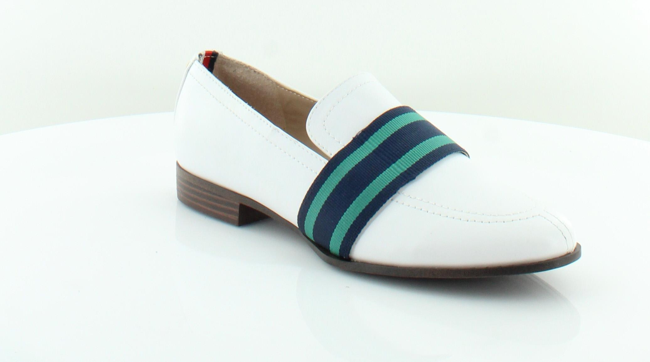 e7d171ce3 Tommy Hilfiger New Ignaz White Womens Shoes Size 7.5 M Flats MSRP ...