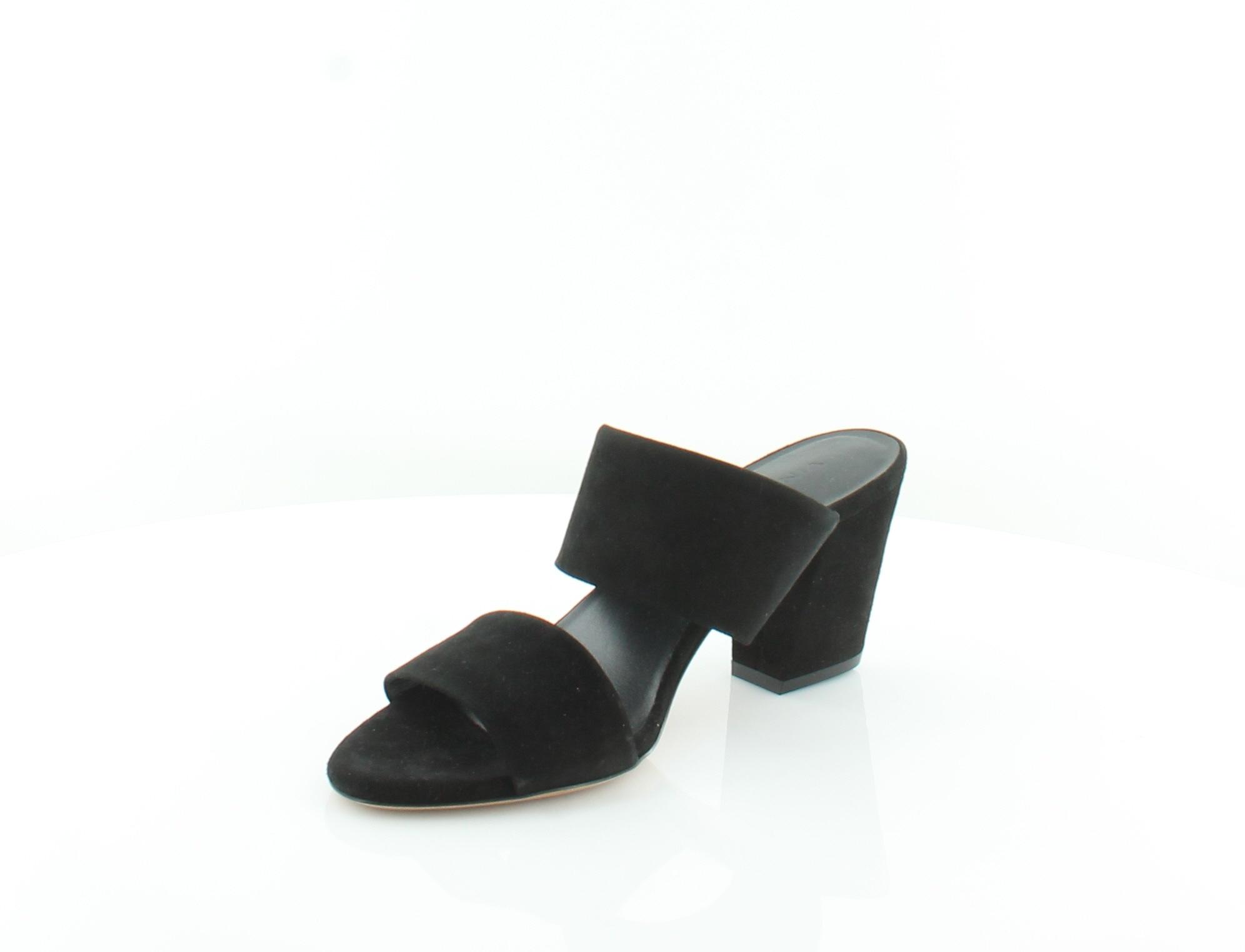 VINCE Benetta nero donna scarpe Dimensione 8.5 M Sandals Sandals Sandals MSRP  295 3a2193