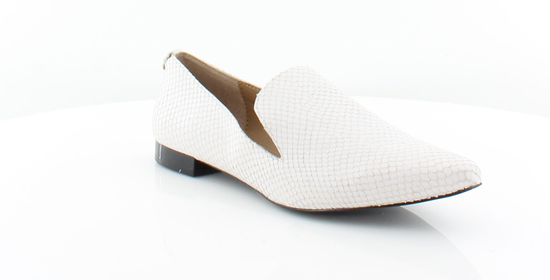 3d791a35e59 Calvin Klein New Elin White Womens Shoes Size 7.5 M Flats MSRP  109 ...