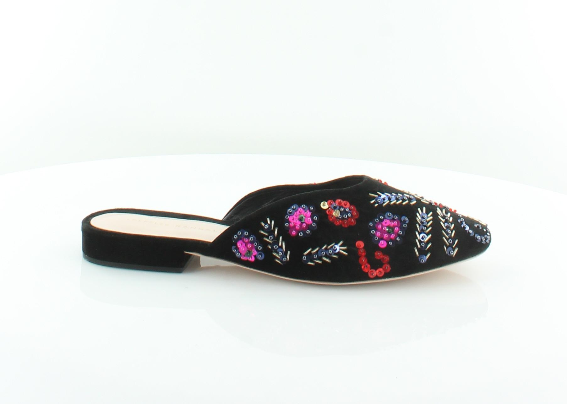 Loeffler Randall Quin nero donna scarpe Dimensione 10 M  Flats MSRP  395  negozio online outlet