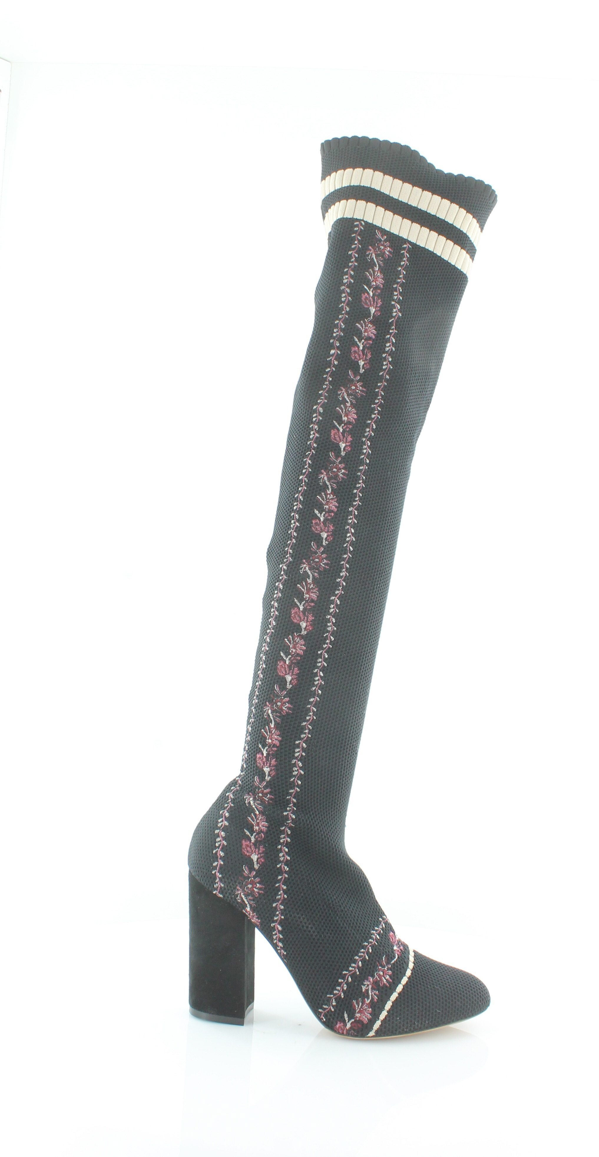 Details about Tabitha Simmons Irina Black Womens Shoes Size 8 M Boots MSRP $1295