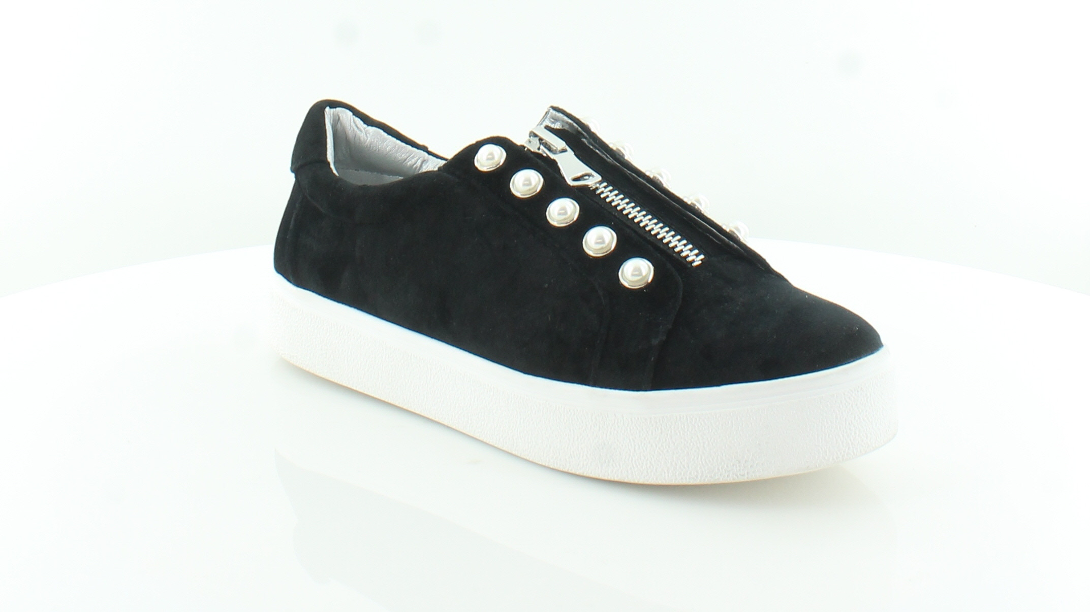 bbad60a66f9 Steve Madden Lynn Black Womens Shoes Size 11 M Fashion Sneakers MSRP ...