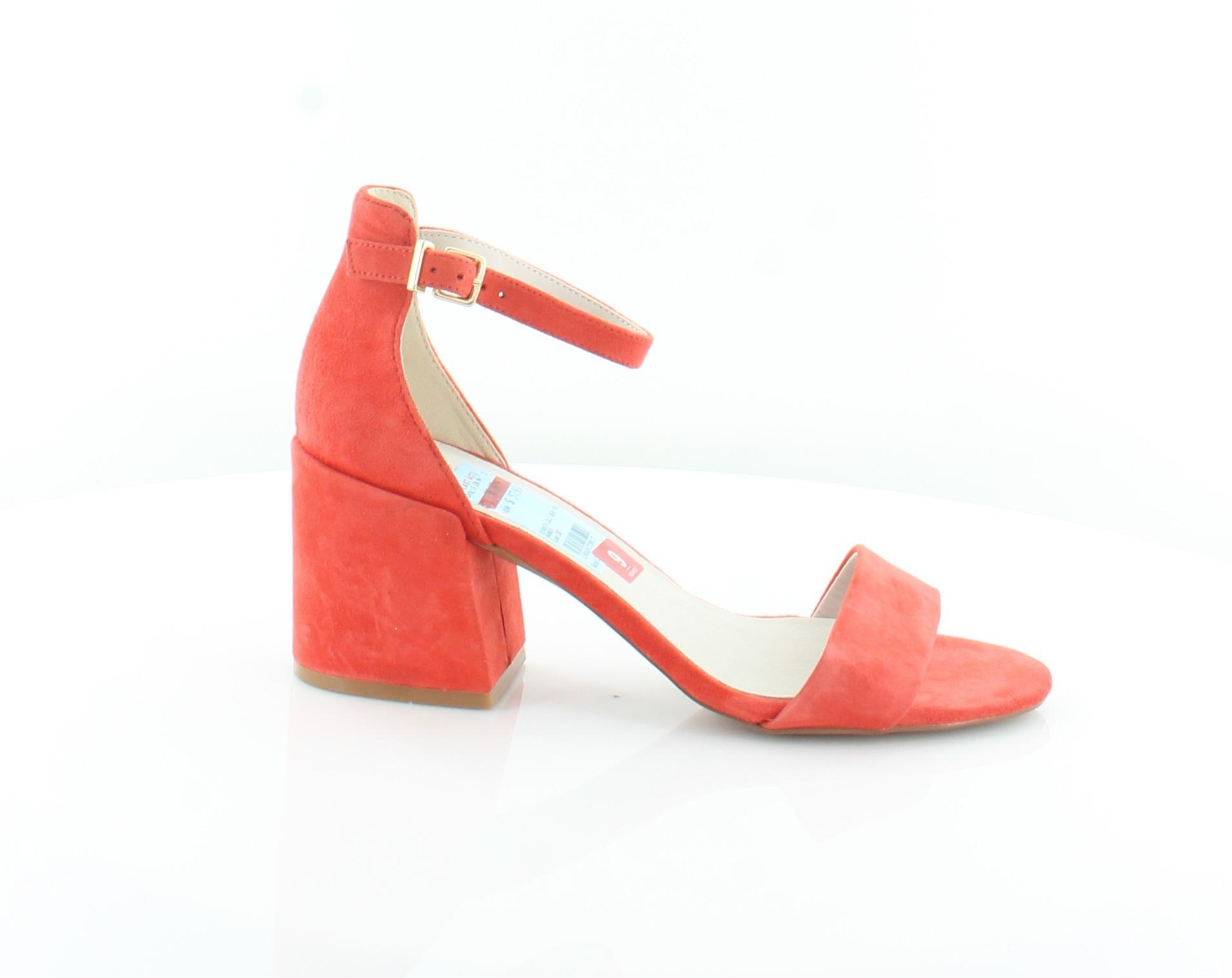 Kenneth-Cole-Hannon-Orange-Womens-Shoes-Size-9-M-Sandals-MSRP-130