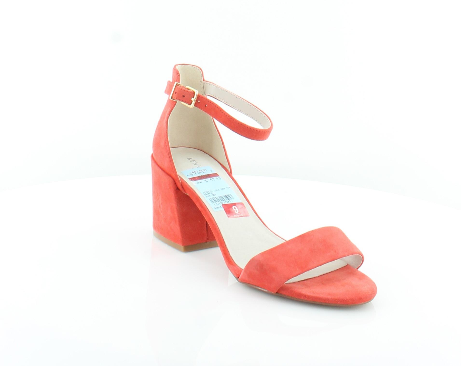 Kenneth-Cole-Hannon-Orange-Womens-Shoes-Size-9-M-Sandals-MSRP-130 thumbnail 4
