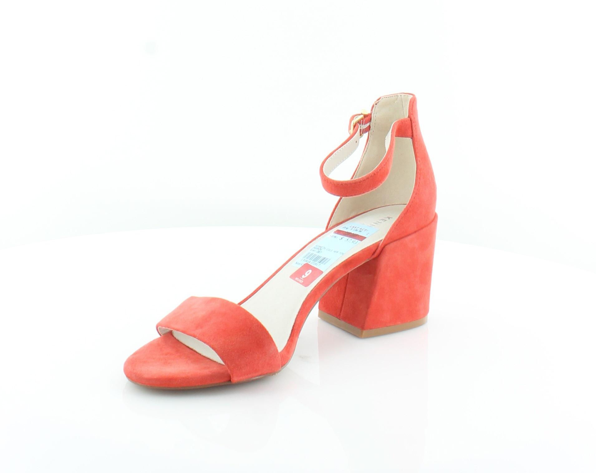 Kenneth-Cole-Hannon-Orange-Womens-Shoes-Size-9-M-Sandals-MSRP-130 thumbnail 2