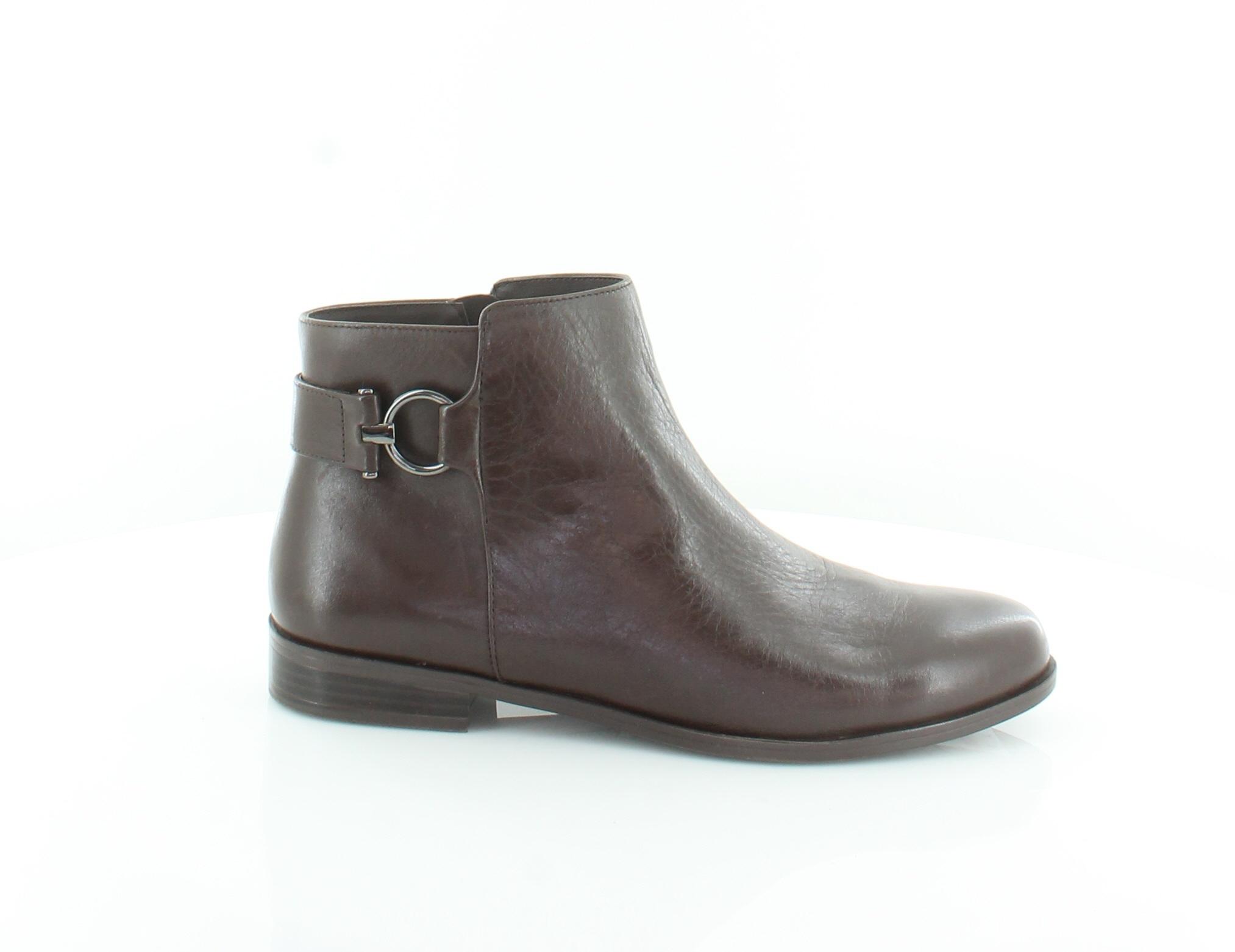 Alfani Ayaa Marrón Zapatos para mujer M botas precio minorista sugerido por el fabricante