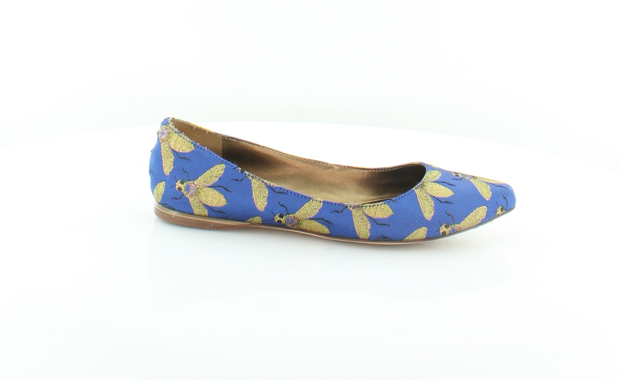 Nine West Speakup bluee Womens shoes Size 6 M Flats MSRP  69