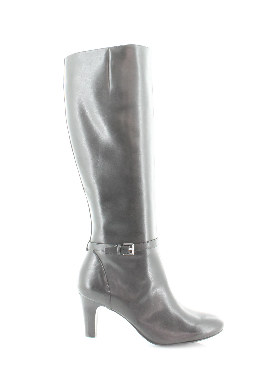 Ralph Lauren SANDIE Noir Pour Femme Chaussures Taille 7 M Bottes PDSF  185
