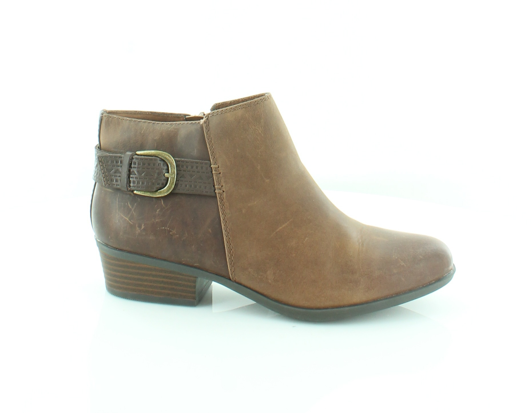 Clarks Addiy Kara Brown Womens Shoes Size 8 M Boots MSRP $135